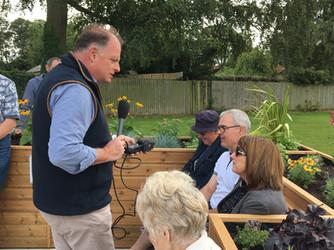 Ben Jackson interviewing members of Newbold Verdon community