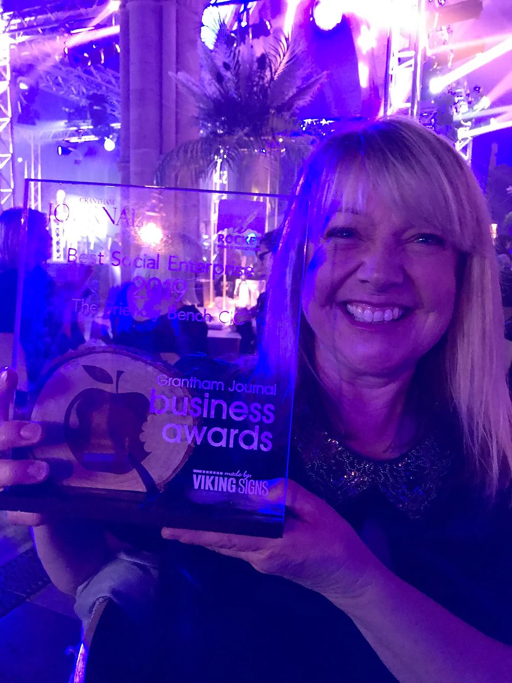 The Friendly Bench™ CIC wins Best Social Enterprise award