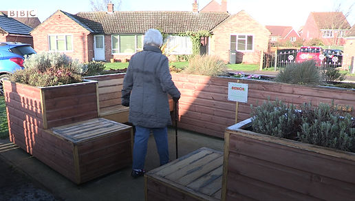 The Friendly Bench - a movement to tackle loneliness, social isolation and community disconnectedness using our innovative, community-led activie social spaces.