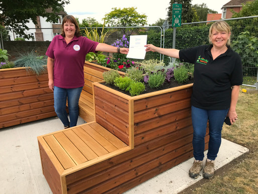 Our latest The Friendly Bench™ is installed in Ipswich