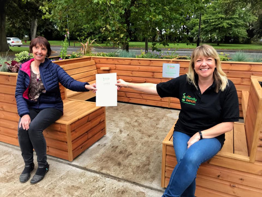 Our latest The Friendly BenchⓇ opens in Hillmorton, Rugby