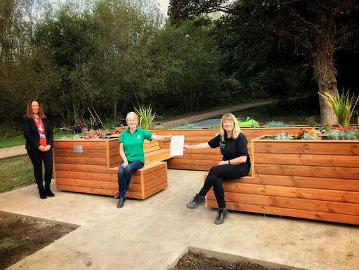 The Friendly BenchⓇ officially opens in Chester