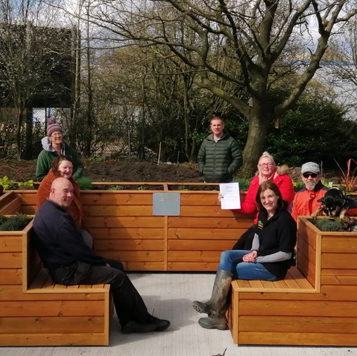 The Friendly BenchⓇ arrives in Durham