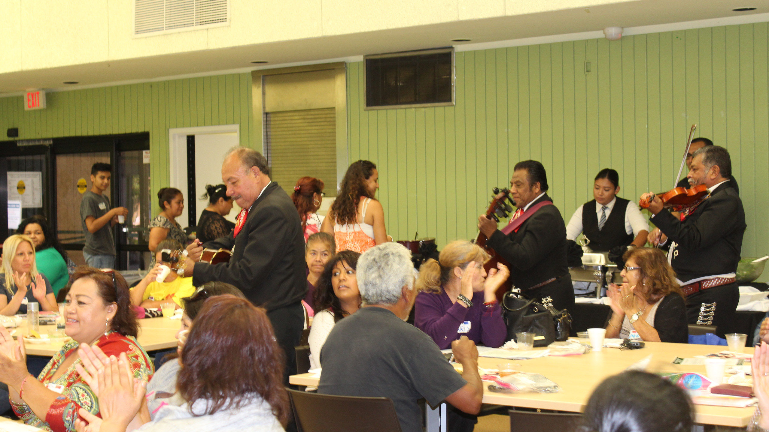 East LA and Boyle heights residents Celebrating the Launch of the East L.A.  Resource Guide.