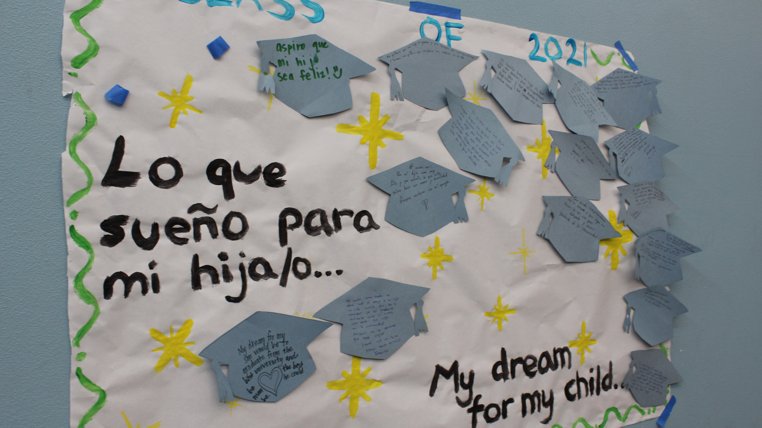 Parents share their hopes for their children.