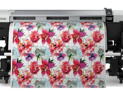 "Review Printer Sublimation 64"" ราคาประหยัด Epson F7270"