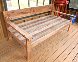 Reclaimed Barn Board Daybed
