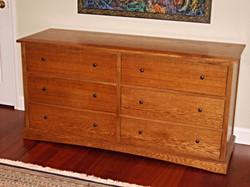 Red Oak Dresser