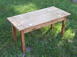 Reclaimed Chestnut Bench