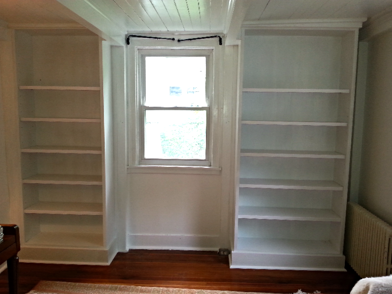 Painted Bookcases