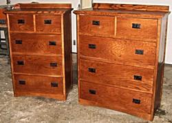 Red Oak Dressers