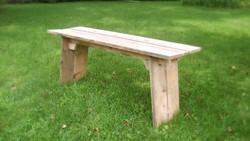 Reclaimed Pine Bench