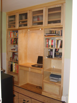 Maple Office Nook
