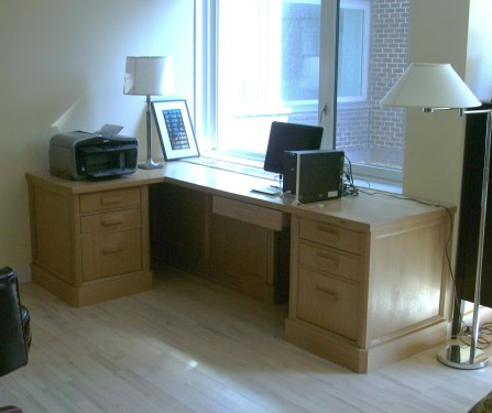 White Oak Desk