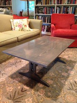 Stained Pine Coffee Table