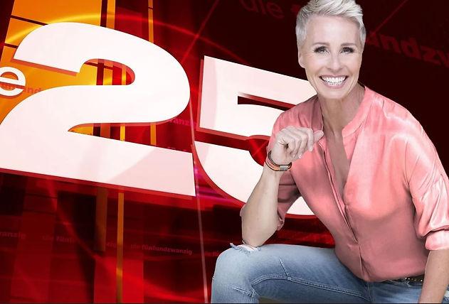 DIE 25 RTL Ranking Show Postproduktion