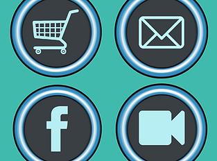 Anbindung an Webshop, Social Media Verlinkung, Hotspot Verküpfung