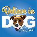 BelieveinDog_Logo_wErin_BlueBkrd_small.w