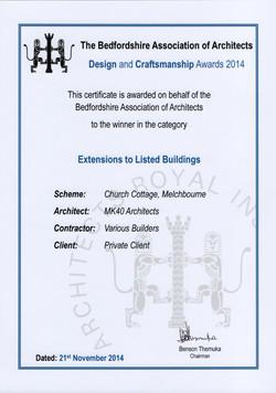ARCH AWARDS 2014 MELCHBOURNE