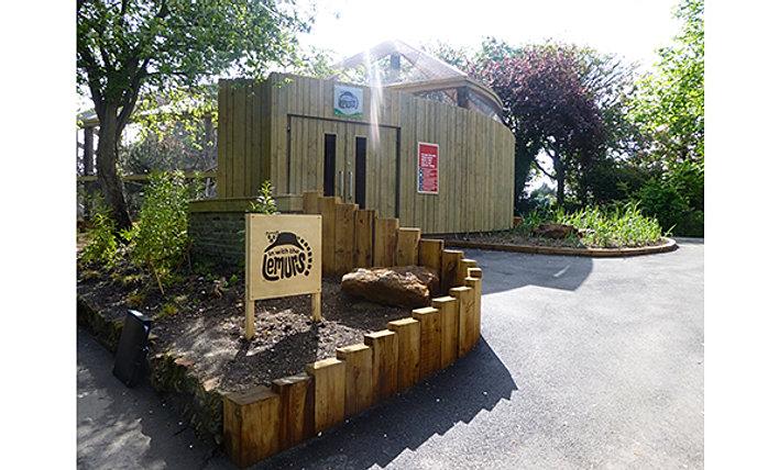Mk40 architects lemurs zsl london zoo for Garden room london zoo
