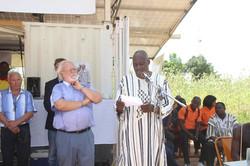 Discours du maire du village