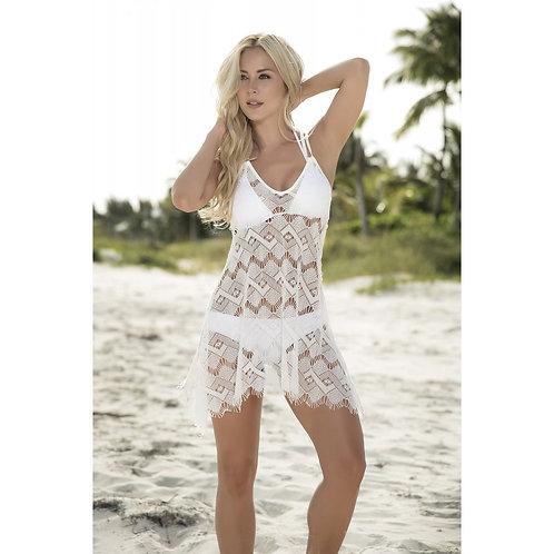 ultra sexy superbe robe de plage blanche pour la plage