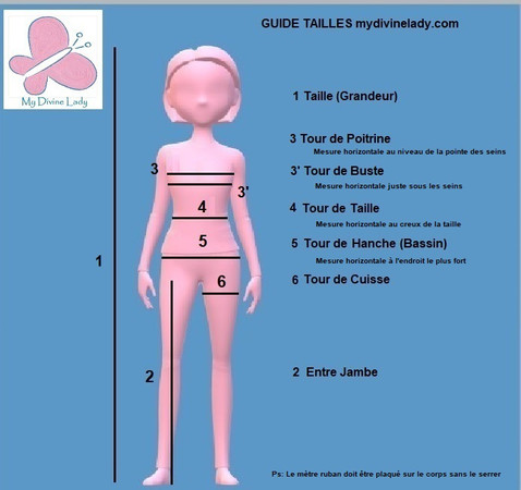 Guide Tailles My Divine Lady Mannequin.j