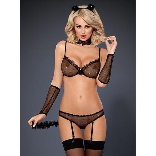 CATWOMAN - 836-CST-1 Costume Catwoman Noir - OBSESSIVE