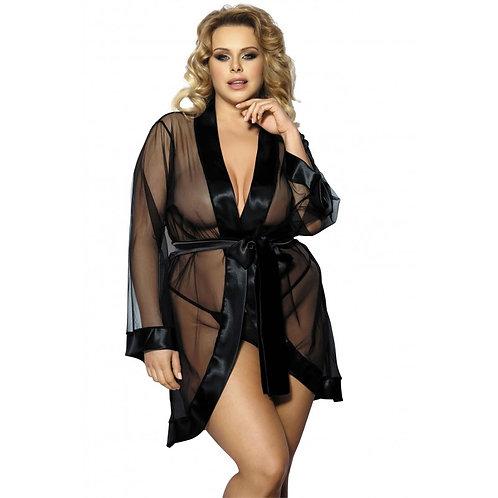 MAERIN Noir - DESHABILLE - ANAIS Gorgeous Size +
