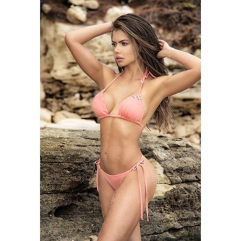 super bikini deux pièces corail trés sexy