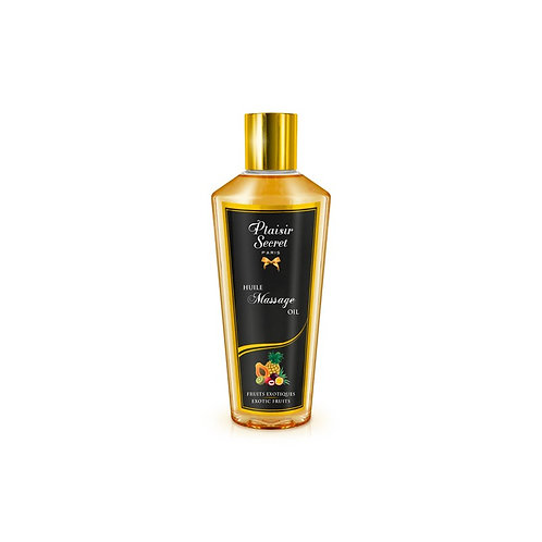 HUILE MASSAGE - Huile Massage Sèche - 250 ml -Fruits Exotiques- PLAISIRS SECRETS