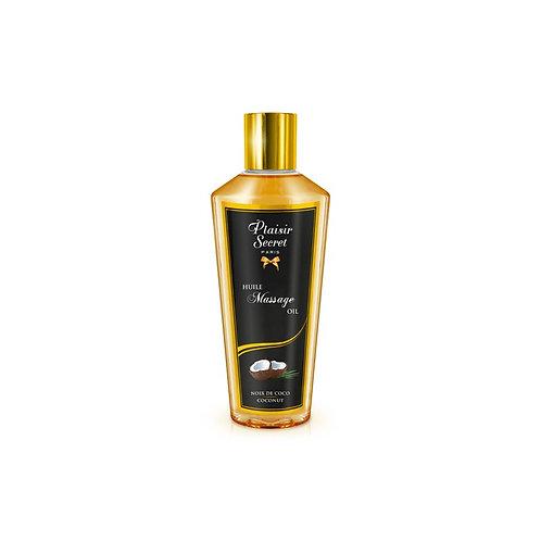 HUILE MASSAGE - Huile Massage Sèche - 250 ml - Noix de Coco - PLAISIRS SECRETS