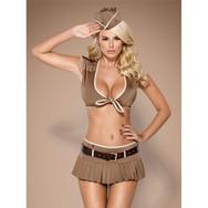 814-cst-4 Costume Militaire 5-Pcs OBSESS