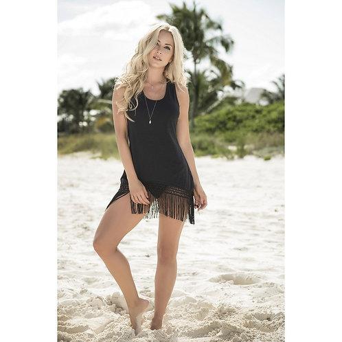 ultra sexy superbe robe de plage noir pour la plage