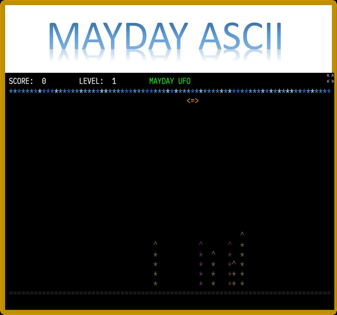 Mayday AscII