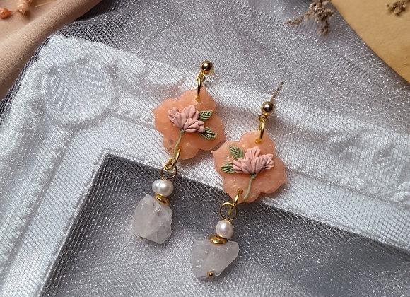 Peachy Florals 001