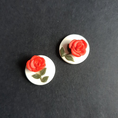Rosabelle Round Stud