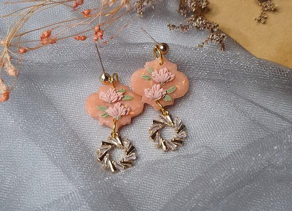 Peachy Florals 003