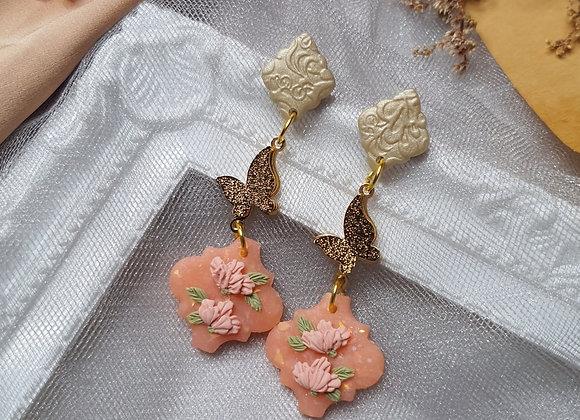 Peachy Florals 006