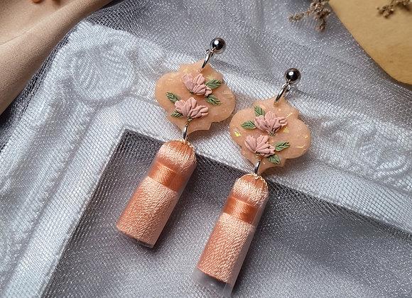 Peachy Florals 002