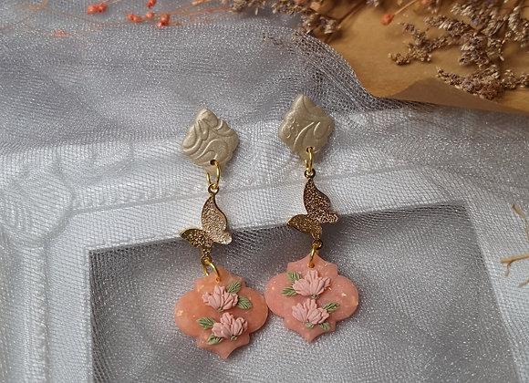 Peachy florals 008