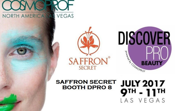 Saffron Secret Chosen as an Innovative Brand for Cosmoprof Show