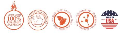 sulphate free saffron