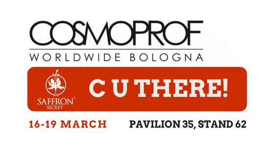 Saffron Secret's Next Industry Show - Cosmoprof Bologna