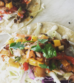 pork sisig taco