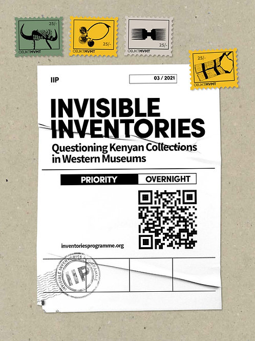 Invisible Inventories - the zine