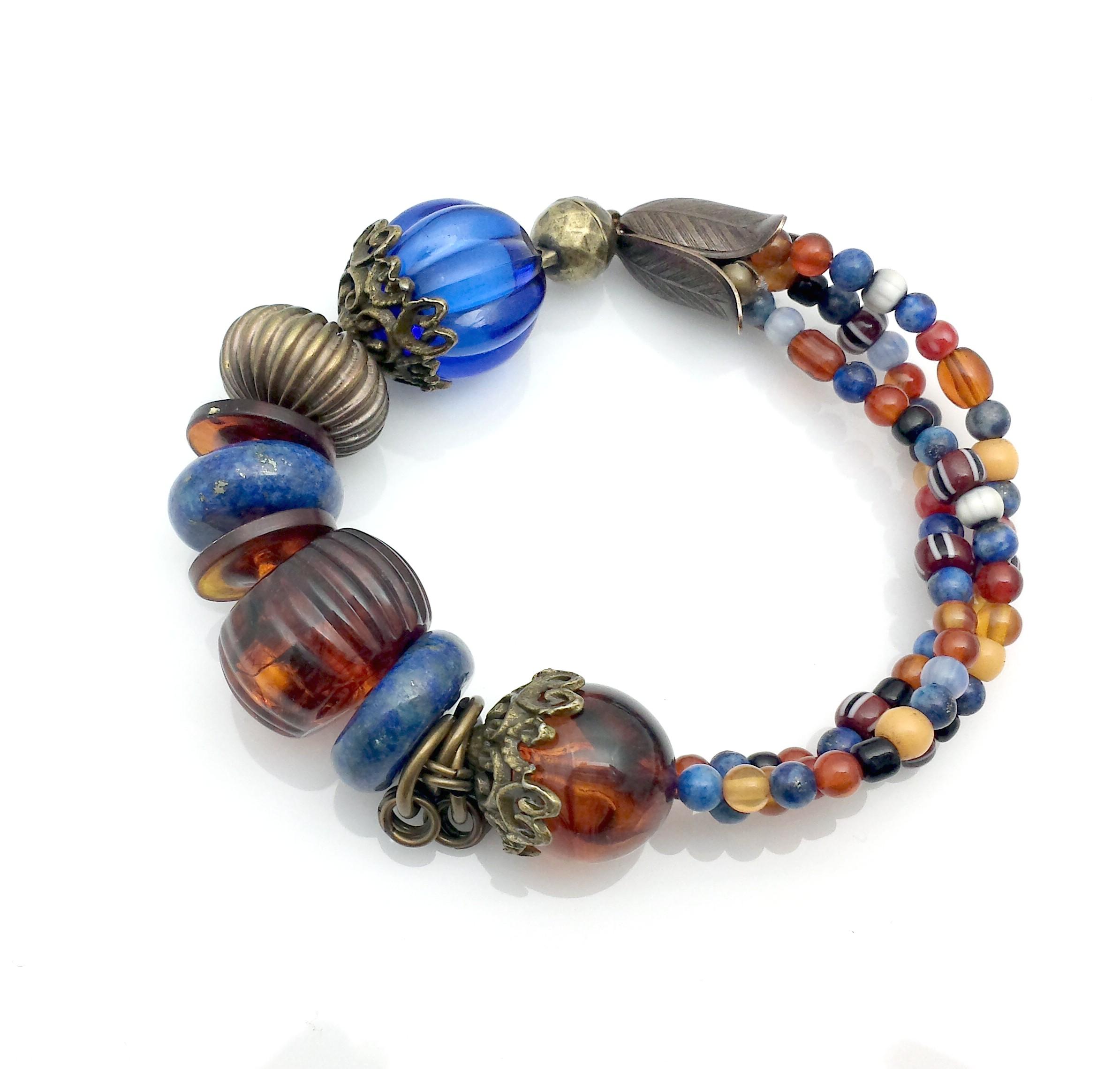 Rustic Bracelet Navy