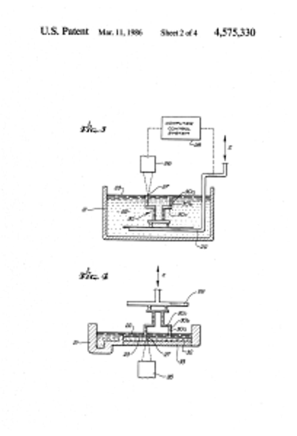 brevetto stereolitografia