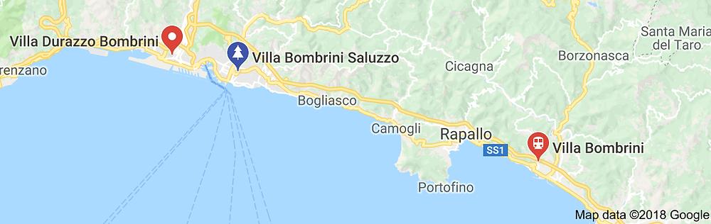 villa Bombrini astrati
