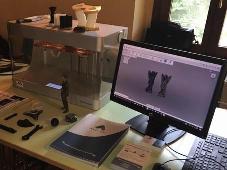 Astrati: stampare in 3D i materiali compositi con la Markforged.